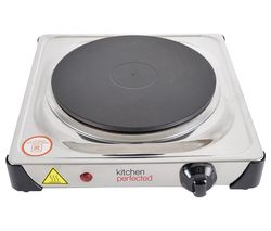 E4103SS Single Electric Hot Plate - Silver