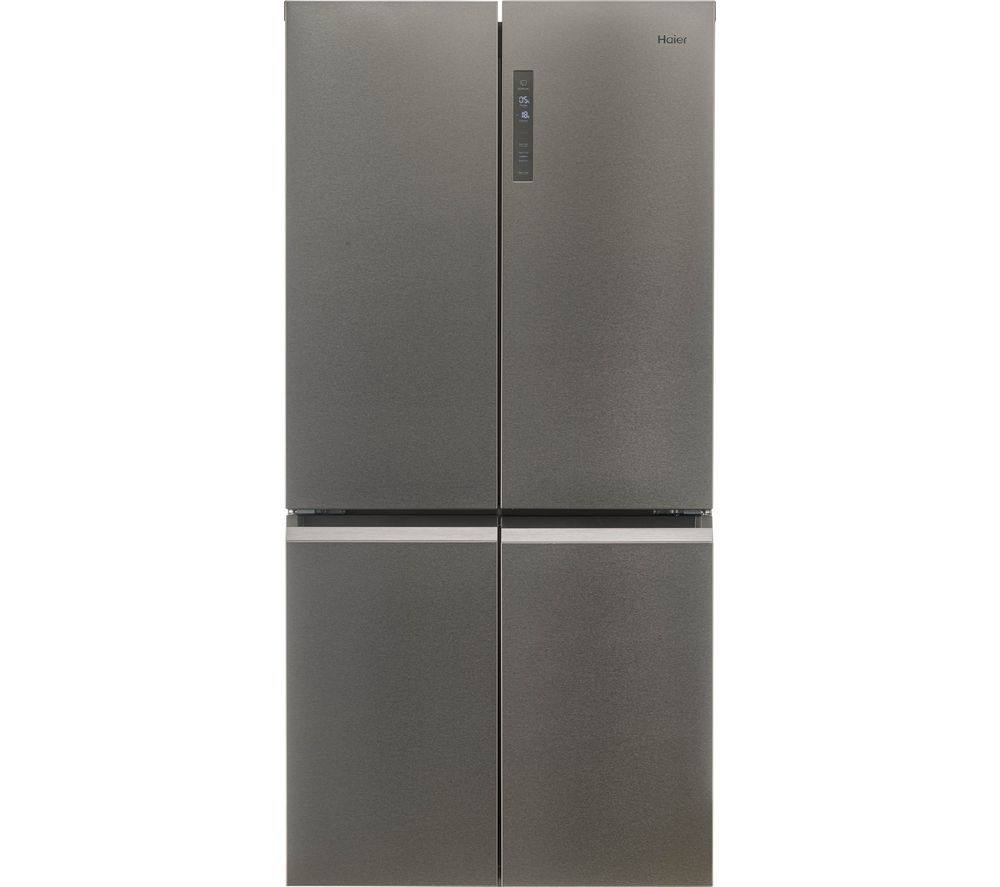 HAIER HTF-540DP7 Fridge Freezer - Platinum Inox
