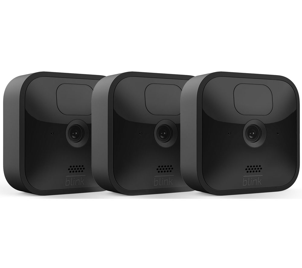BLINK Outdoor HD 720p WiFi Security Camera System - 3 Cameras