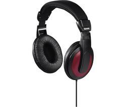 Basic4Music 00184012 Headphones - Black & Red
