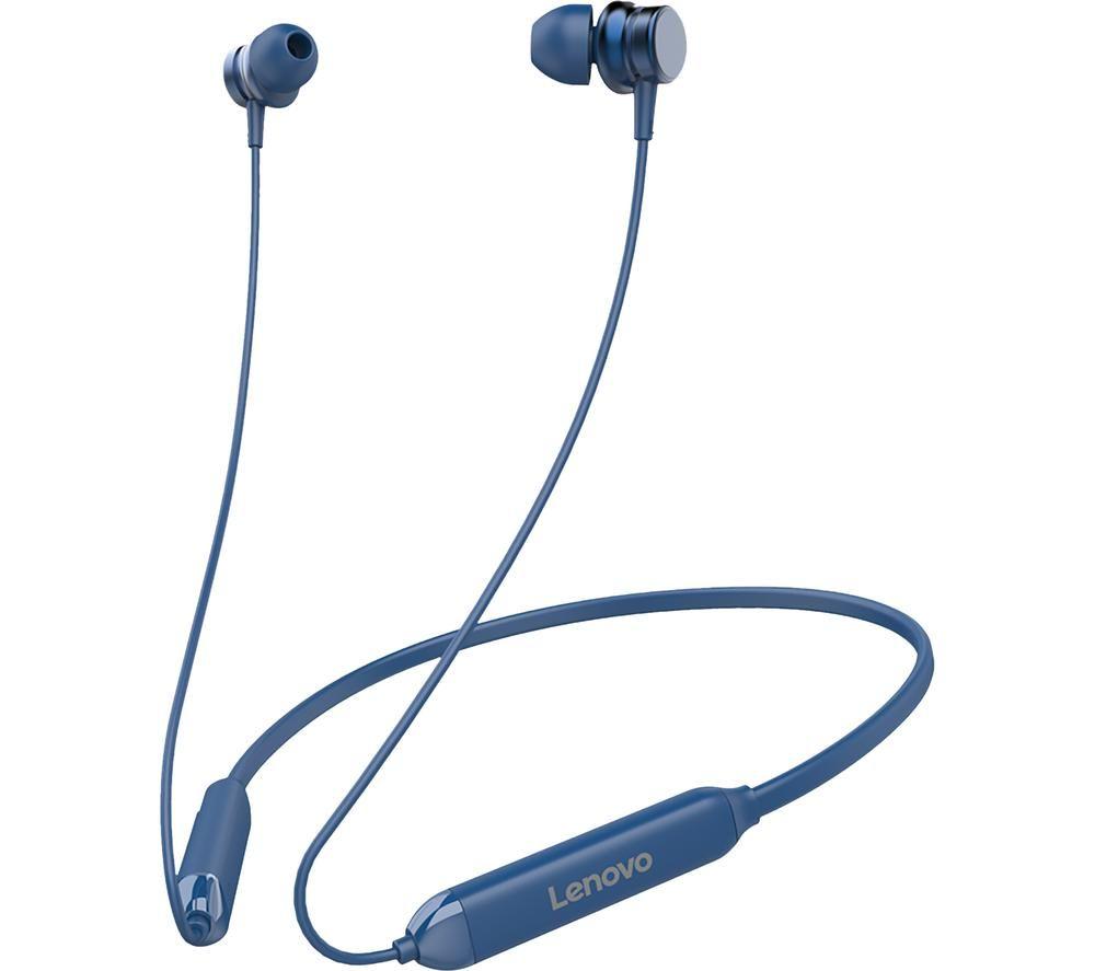 LENOVO HE15 Wireless Bluetooth Sports Earphones - Blue