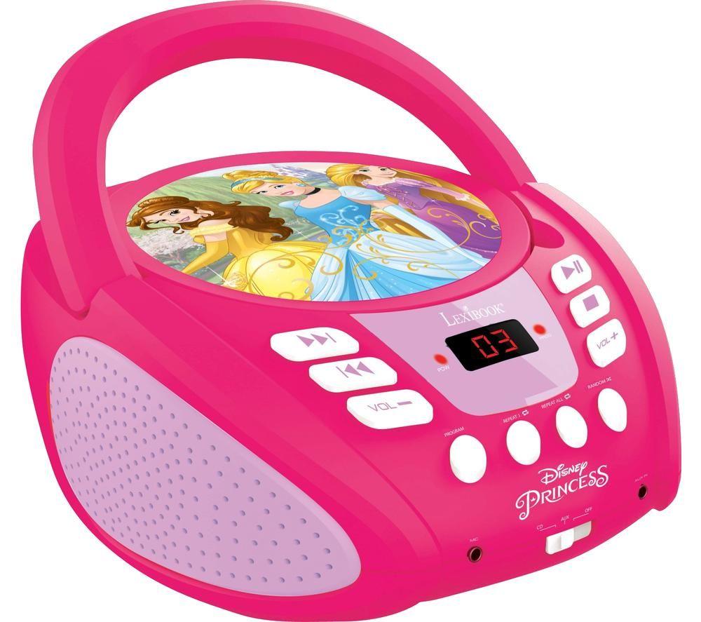 LEXIBOOK RCD108DP Boombox - Disney Princess
