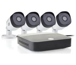 SV-4C-4ABFX-2 Full HD 1080p DVR 4-Channel Smart CCTV Kit - 1 TB, 4 Cameras