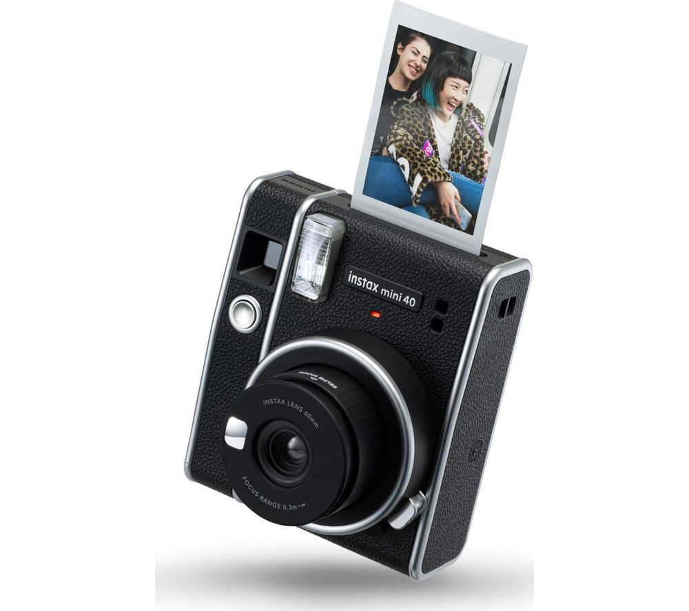 Click to view product details and reviews for Instax Mini 40 Instant Camera Black Black.