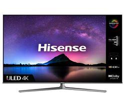 "55U8GQTUK 55"" Smart 4K Ultra HD HDR QLED TV with Alexa & Google Assistant"