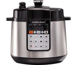 34502-SAU Multi-Function Pressure Cooker - Silver & Black