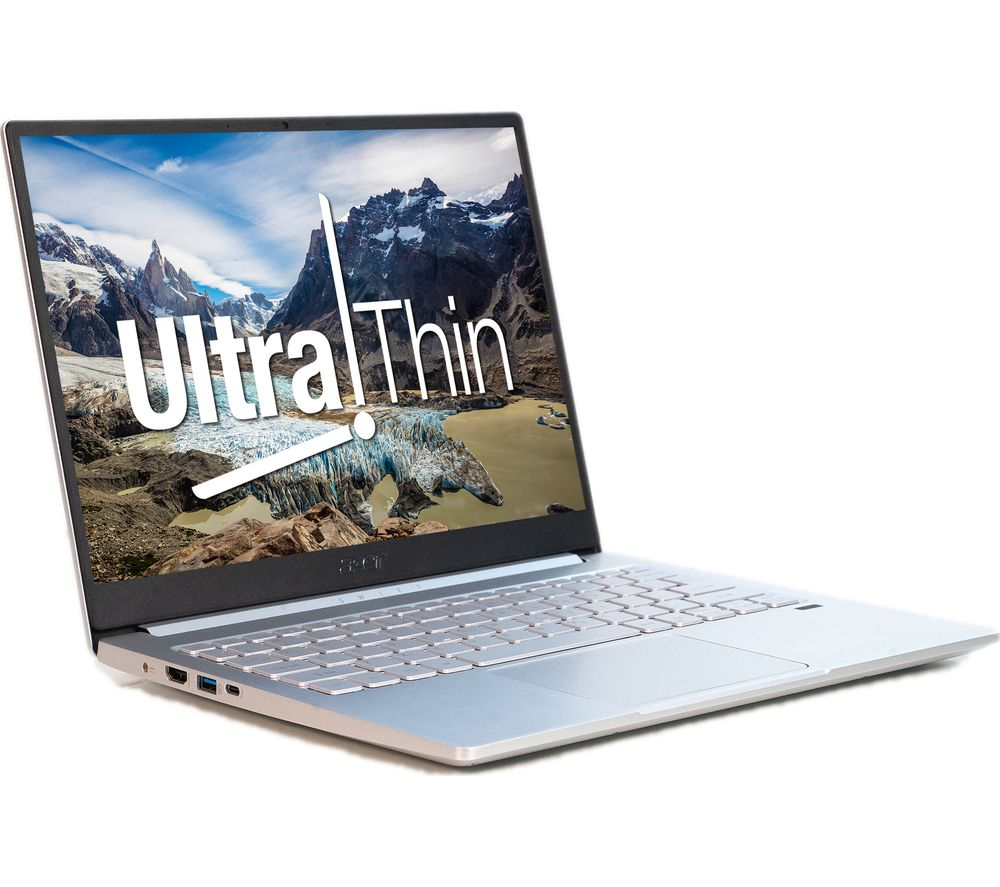"""Image of ACER Swift 3 13.5"""" Laptop - Intel®Core™ i7, 512 GB SSD, Silver, Silver"""