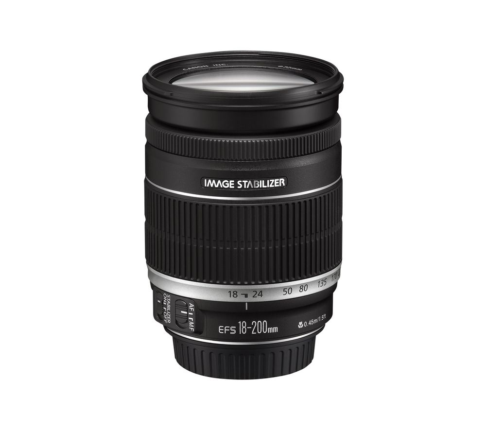 Compare cheap offers & prices of Canon EF-S 18-200 mm f-3.5-5.6 IS Telephoto Zoom Lens manufactured by Canon