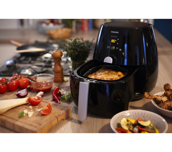 Buy PHILIPS HD9230/20 Viva Airfryer - Ink Black | Free