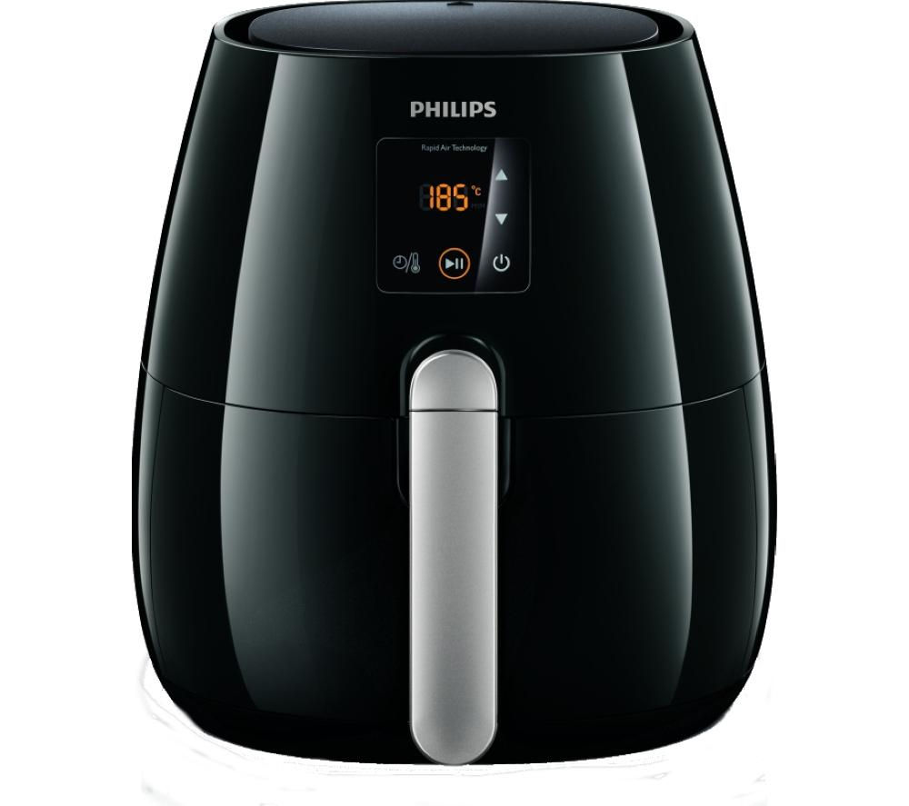 buy philips hd9230 20 viva airfryer ink black free delivery currys. Black Bedroom Furniture Sets. Home Design Ideas