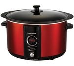 MORPHY RICHARDS 461005 Digital Sear & Stew Slow Cooker - Red