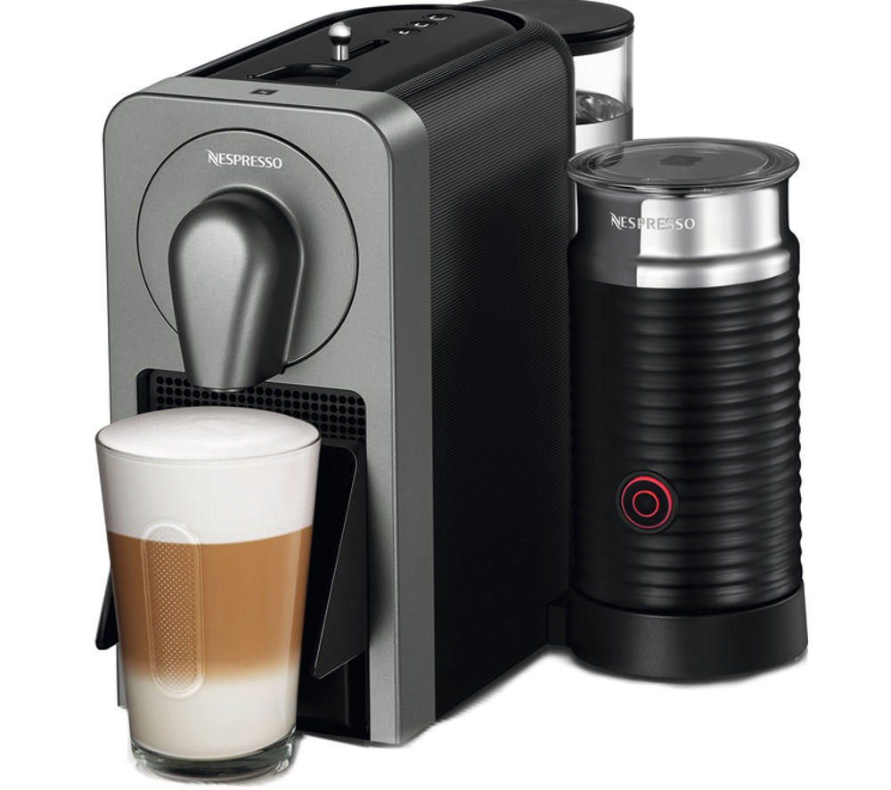 Compare prices for Nespresso By Krups Prodigio XN411T40 Smart Coffee Machine