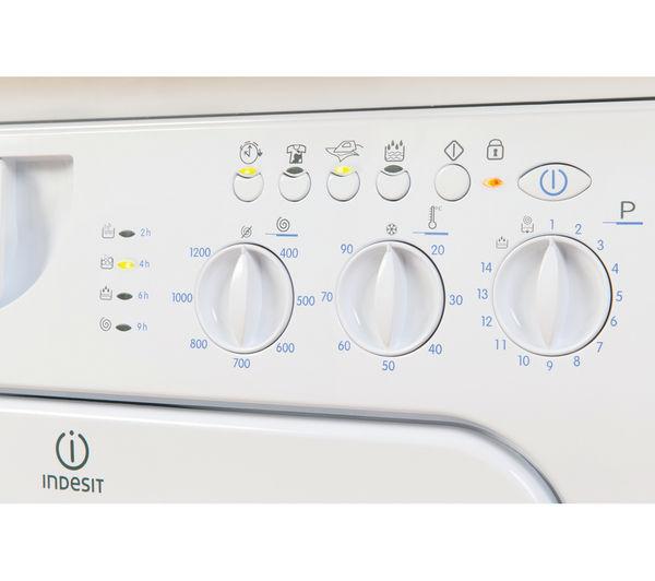 Indesit Ecotime Iwme127 Integrated Washing Machine White