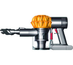 DYSON V6 Trigger Handheld Vacuum Cleaner - Iron & Yellow