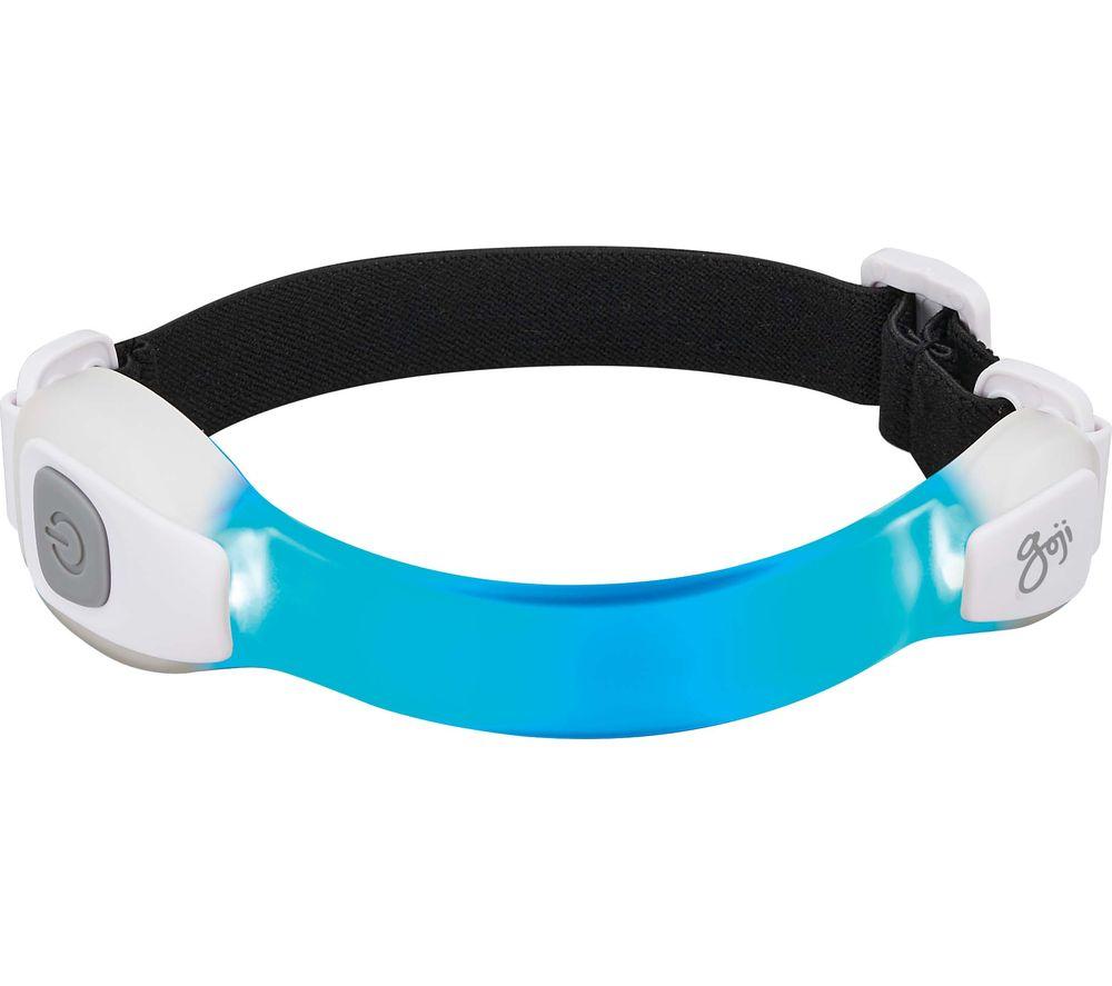 GOJI GLEDAUK16 Armband LED Light - White & Grey, Small
