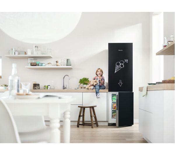 Buy MIELE KFN29233 D BB 70/30 Fridge Freezer