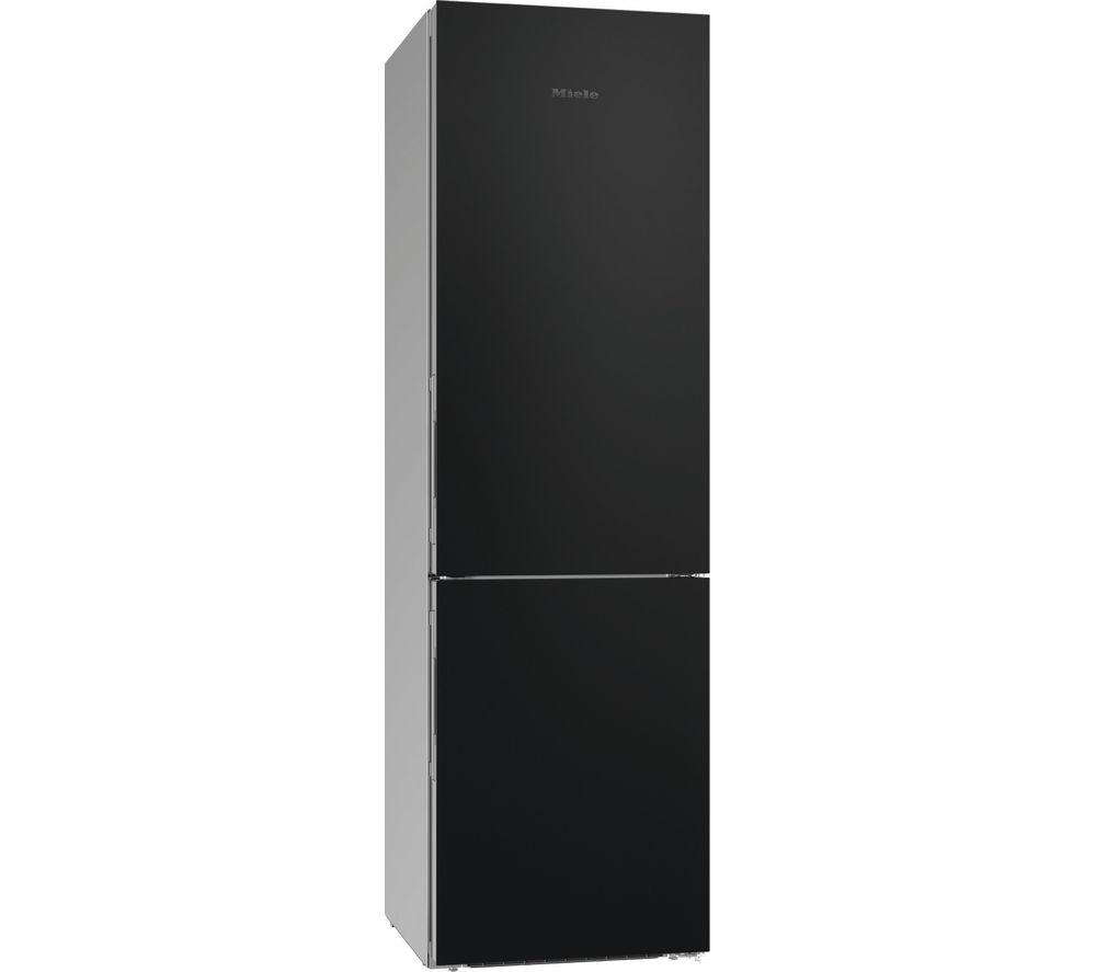 MIELE KFN29233 D BB 70/30 Fridge Freezer - Black