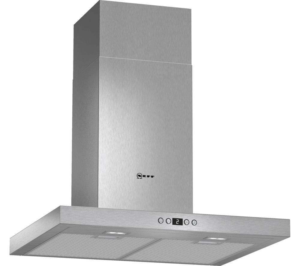 buy neff d76sh52n0b chimney cooker hood stainless steel. Black Bedroom Furniture Sets. Home Design Ideas