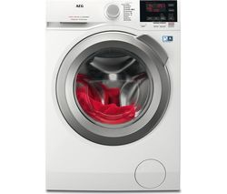 AEG ProSense L6FBG842R Washing Machine - White