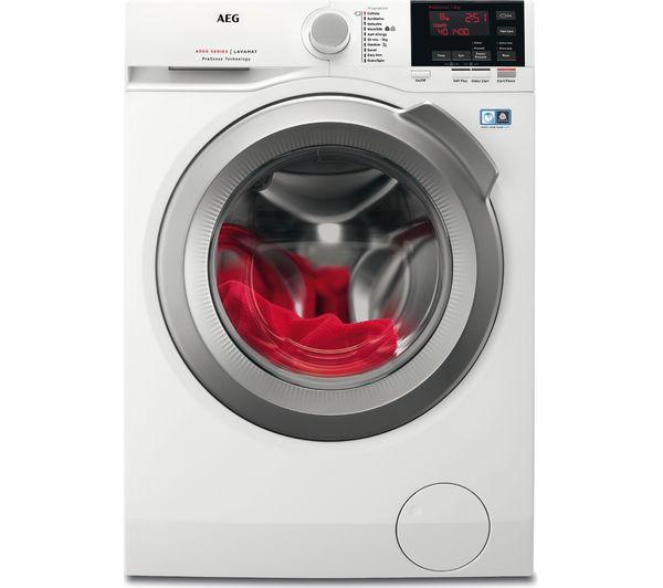 AEG ProSense L6FBG842R Washing Machine - White