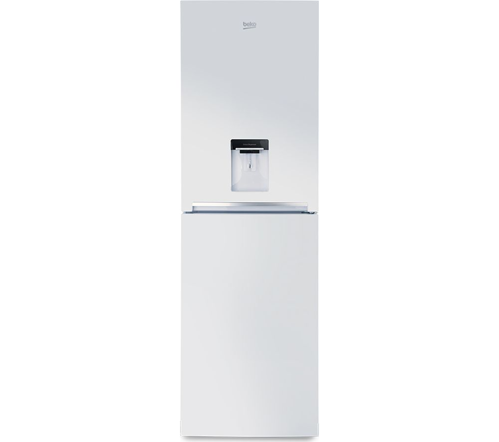 Buy Beko Cfg1691dw 50 50 Fridge Freezer White Free