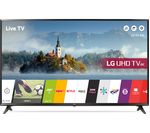 "LG 49UJ630V 49"" Smart 4K Ultra HD HDR LED TV"
