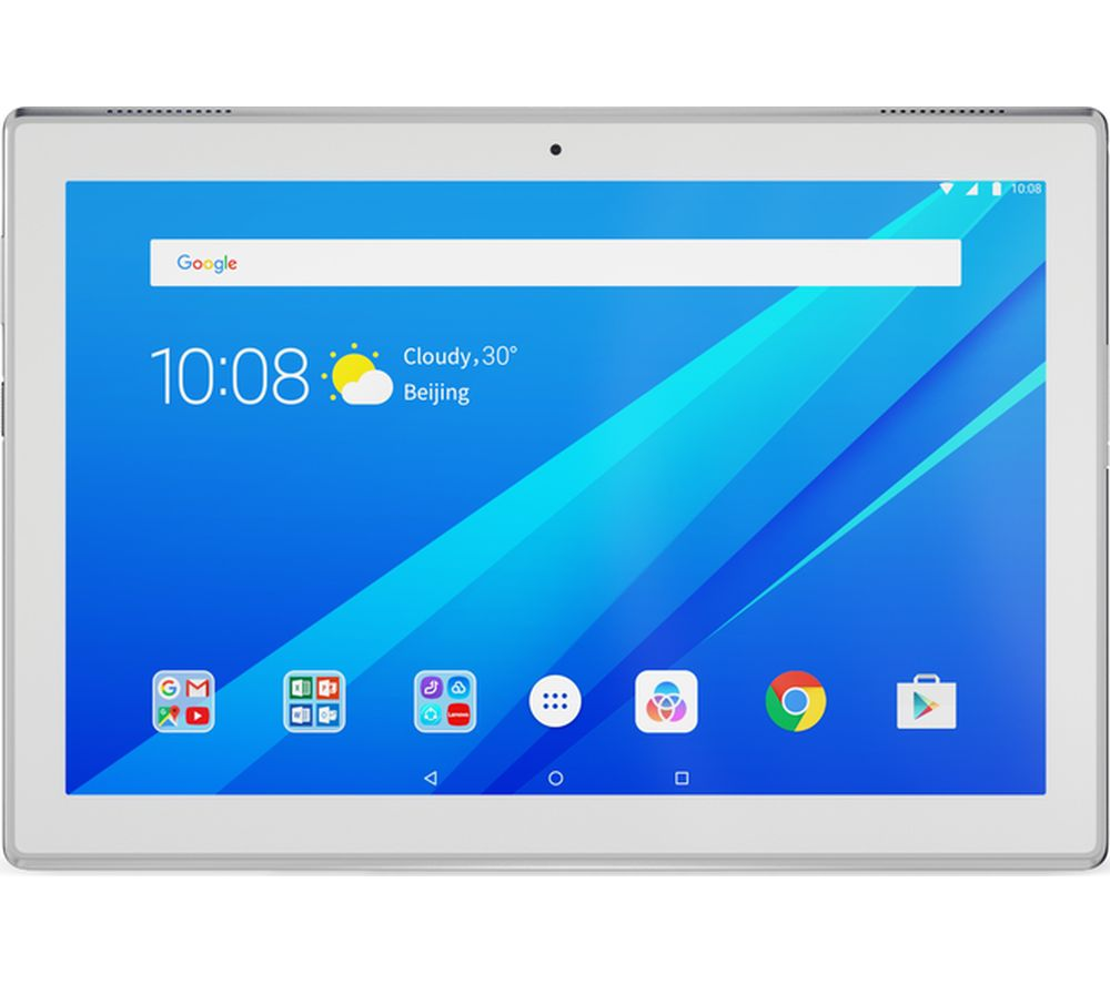 LENOVO Tab4 10 Tablet - 16 GB, White