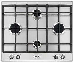 SMEG P360XGH Gas Hob - Stainless Steel
