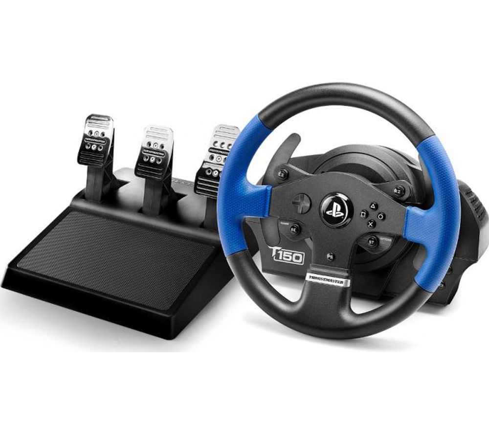 THRUSTMASTER T150 R5 Pro Wheel - Black & Blue