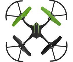 VIVID 01732 Sky Viper Stunt Drone with Controller - Black & Green