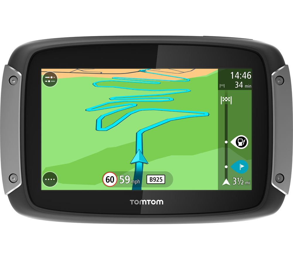 buy tomtom rider 42 motorcycle 4 3 sat nav western. Black Bedroom Furniture Sets. Home Design Ideas
