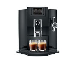JURA E8 Bean to Cup Coffee Machine - Piano Black