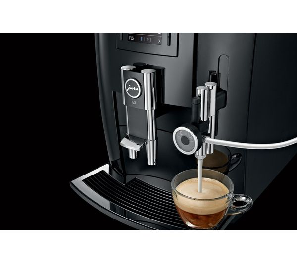 Buy JURA E8 Bean to Cup Coffee Machine - Piano Black ...