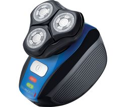 REMINGTON XR1400 Flex 360 Wet & Dry Rotary Shaver - Black & Blue