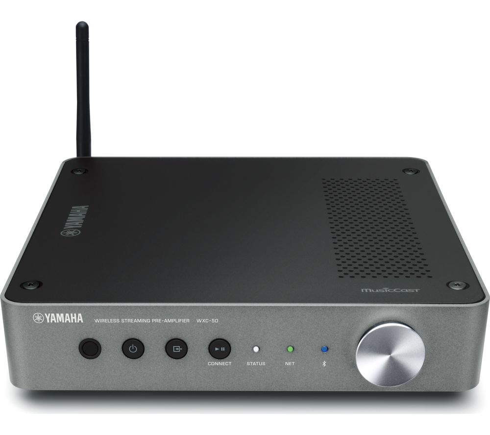 buy yamaha wxc 50 wireless pre amplifier silver free. Black Bedroom Furniture Sets. Home Design Ideas