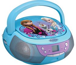 FROZEN FM/AM Boombox with Microphone - Blue