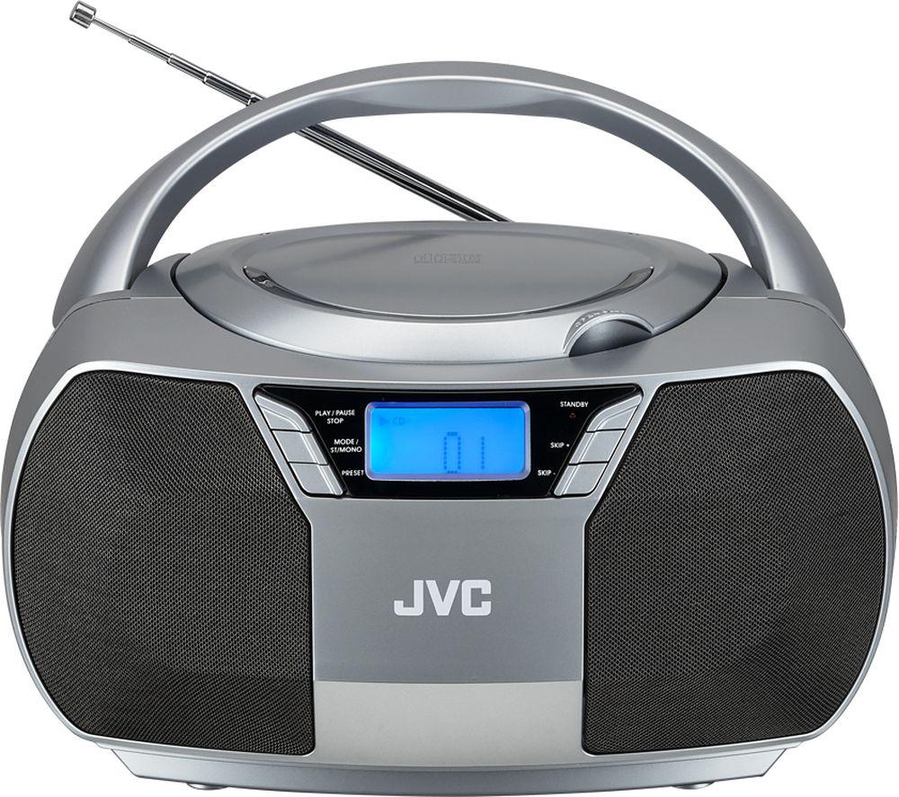 JVC RD-D228H FM Boombox - Grey