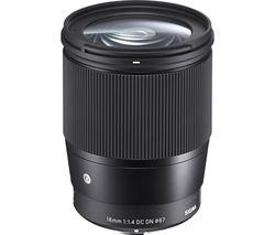 SIGMA 16 mm f/1.4 DC DN C Wide-angle Prime Lens - for Sony
