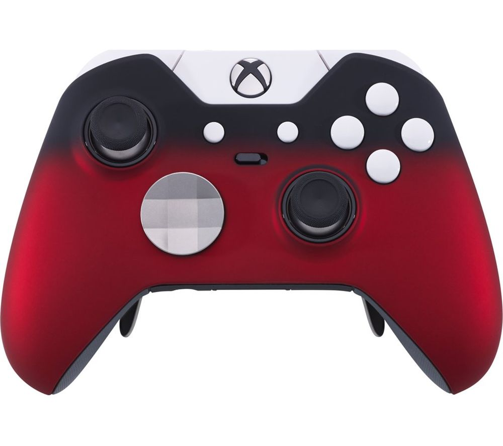 Image of MICROSOFT Xbox Elite Wireless Controller - Polar Red Shadow, Red