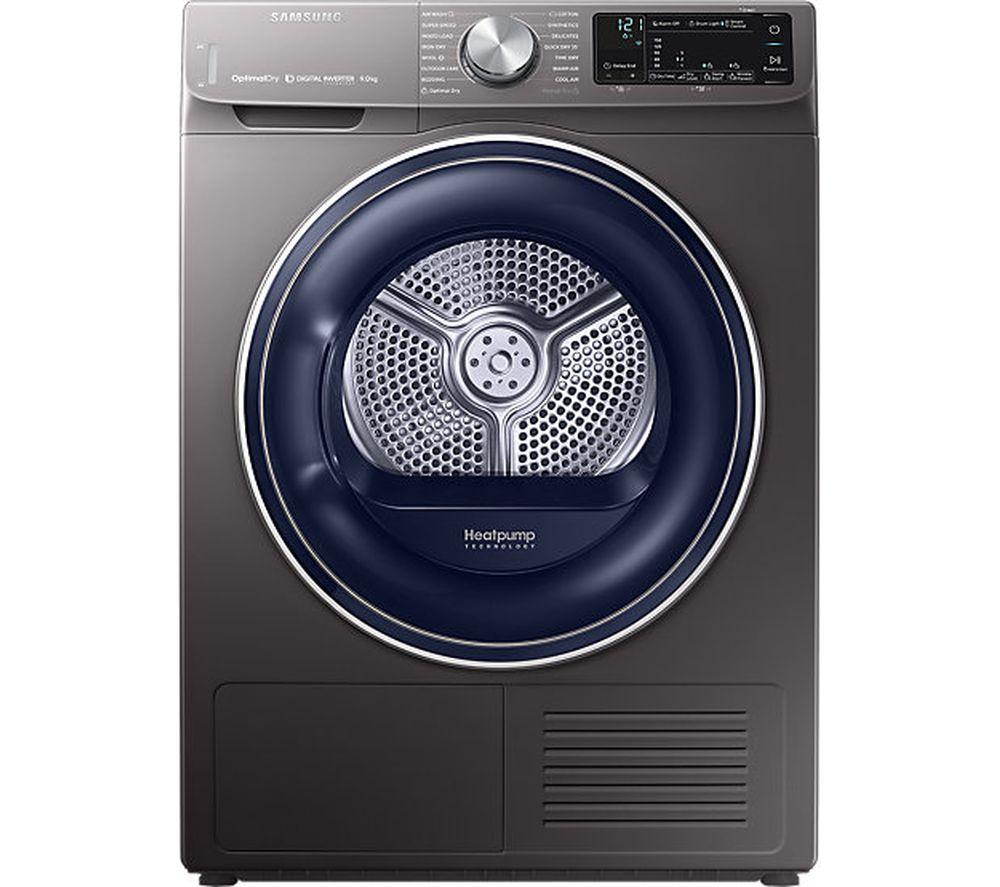 SAMSUNG DV90N62632X Smart 9 kg Heat Pump Tumble Dryer - Graphite