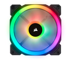 Image of CORSAIR LL Series 120 mm Case Fan - RGB LED