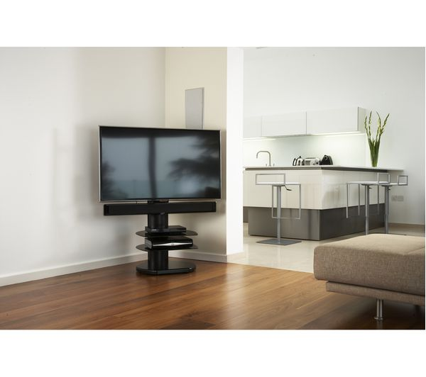 Off The Wall Origin Ii S4 500 Mm Tv Stand With Bracket Gloss Black