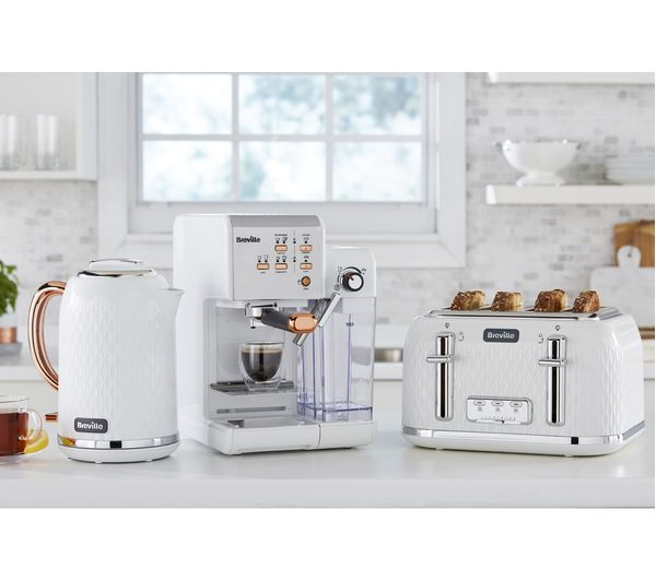 Buy Breville One Touch Vcf108 Coffee Machine White