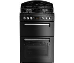 LEISURE CLA60GAK 60 cm Gas Cooker - Black Best Price, Cheapest Prices