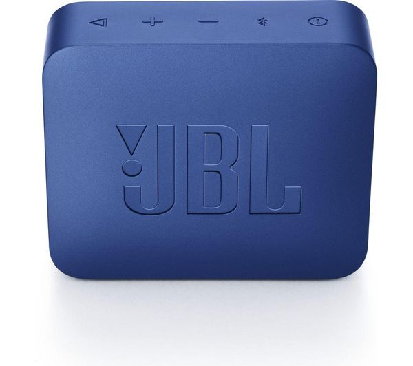 JBL GO2 Portable Bluetooth Speaker - Blue