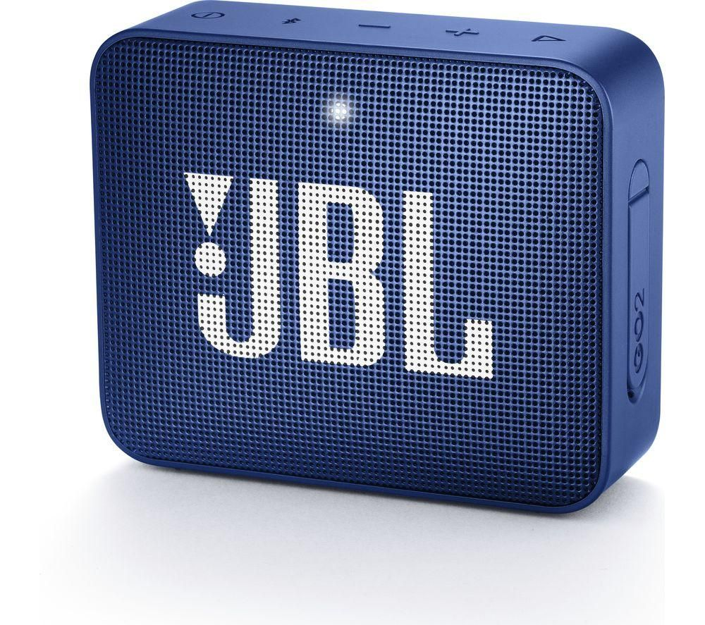 JBL GO2 Portable Bluetooth Speaker - Blue, Blue