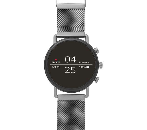 Image of SKAGEN Falster 2 Smartwatch - Grey, Metal Strap