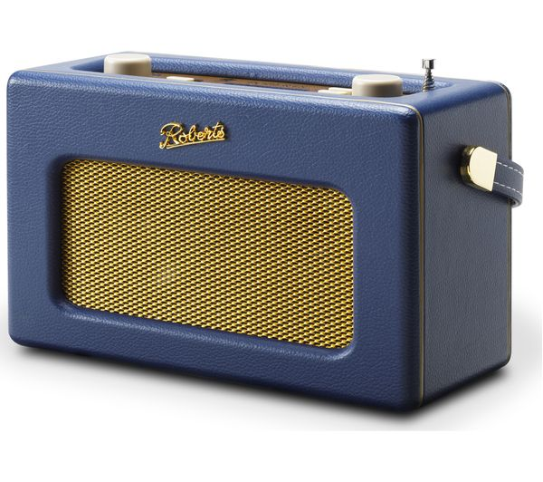 Image of ROBERTS Revival iSTREAM3 Portable DAB+/FM Retro Smart Bluetooth Radio - Blue