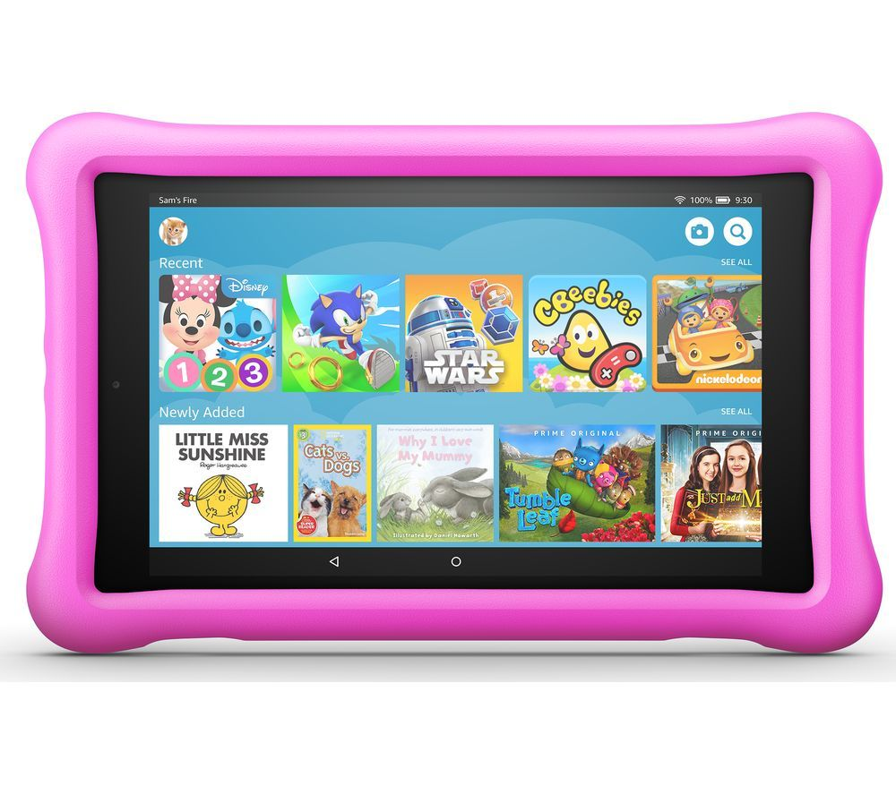"AMAZON Fire HD 8"" Kids Edition Tablet (Oct 2018) - 32 GB, Pink"