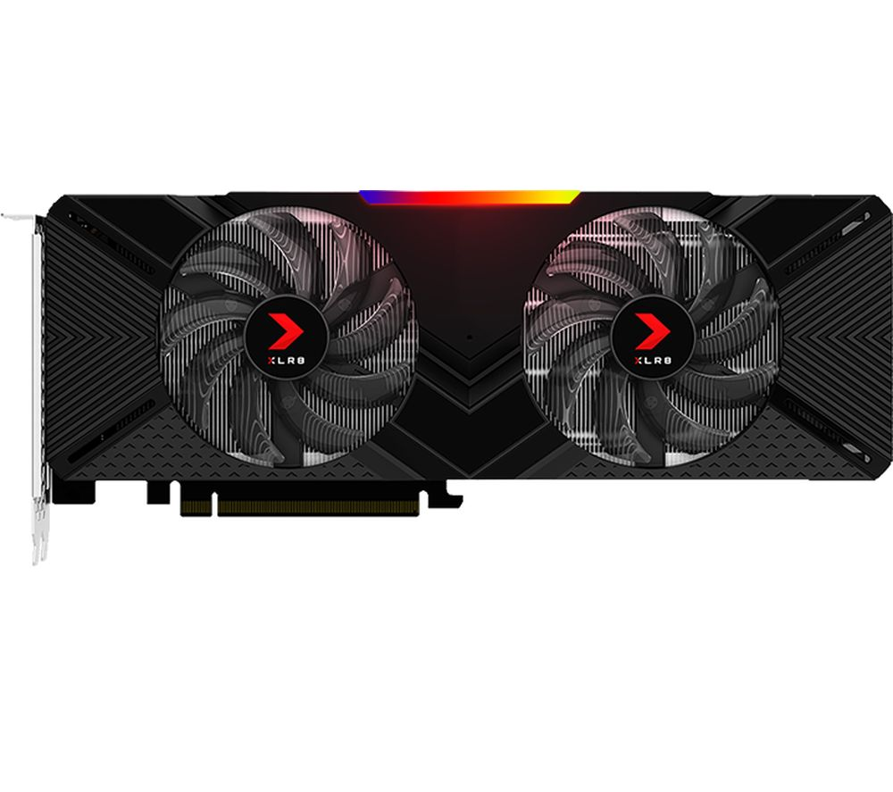 PNY GeForce RTX 2070 8 GB XLR8 GAMING DUAL FAN OC Graphics Card